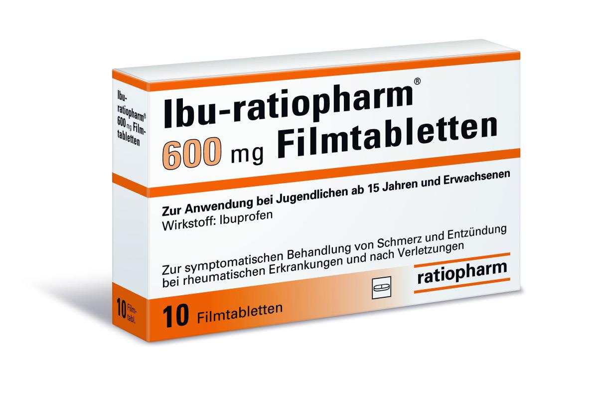 Ibu ratiopharm® 20 mg Filmtabletten   Gelbe Liste